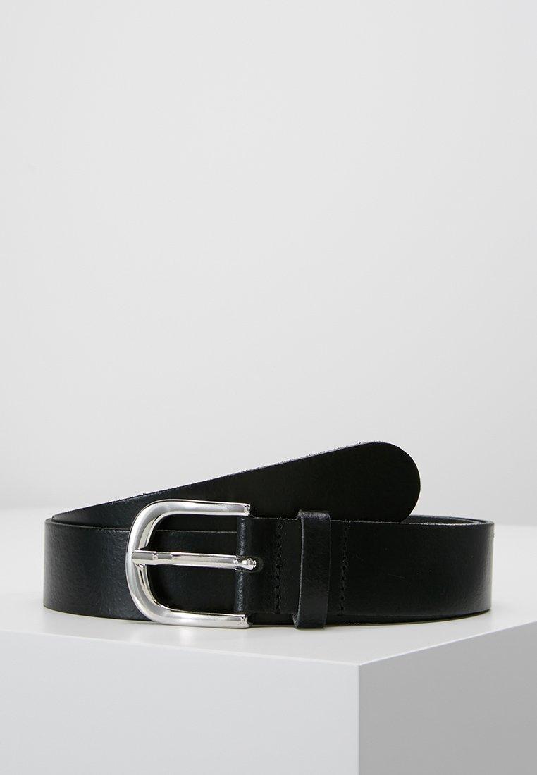 Zign - LEATHER - Belt business - black