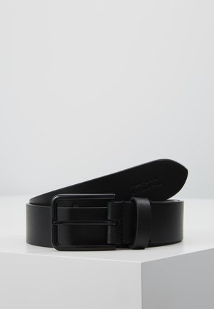 UNISEX LEATHER - Bælter - black