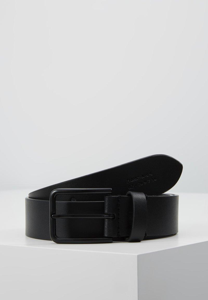Zign - UNISEX LEATHER - Vyö - black