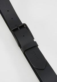 Zign - UNISEX LEATHER - Bælter - black - 5