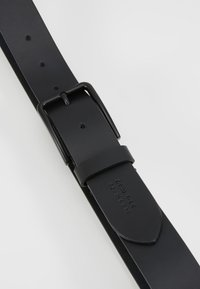 Zign - UNISEX LEATHER - Belt - black - 5