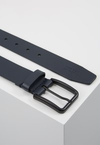 Zign - UNISEX LEATHER - Belt - dark blue - 2