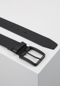 Zign - UNISEX LEATHER - Belt - black - 2