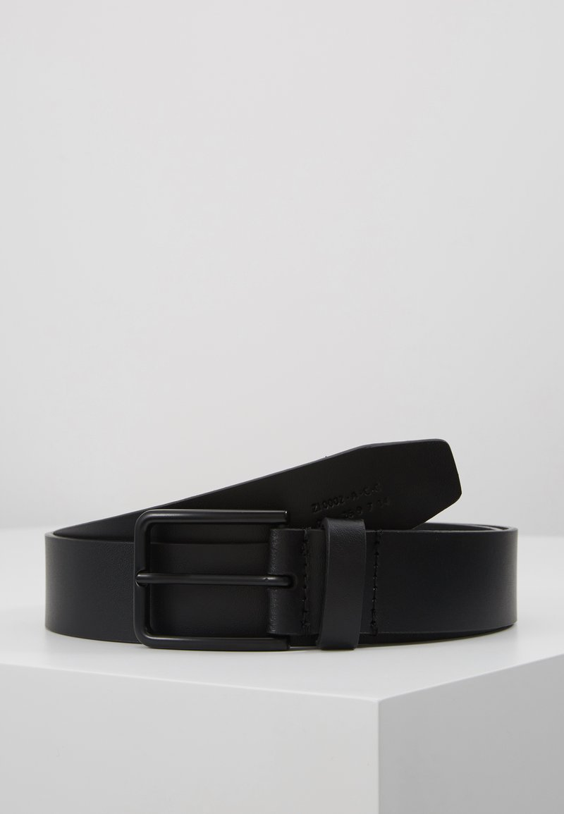 Zign - UNISEX LEATHER - Belt - black