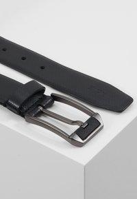 Zign - UNISEX LEATHER - Cinturón - black - 2