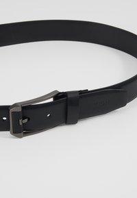 Zign - UNISEX LEATHER - Cinturón - black - 5