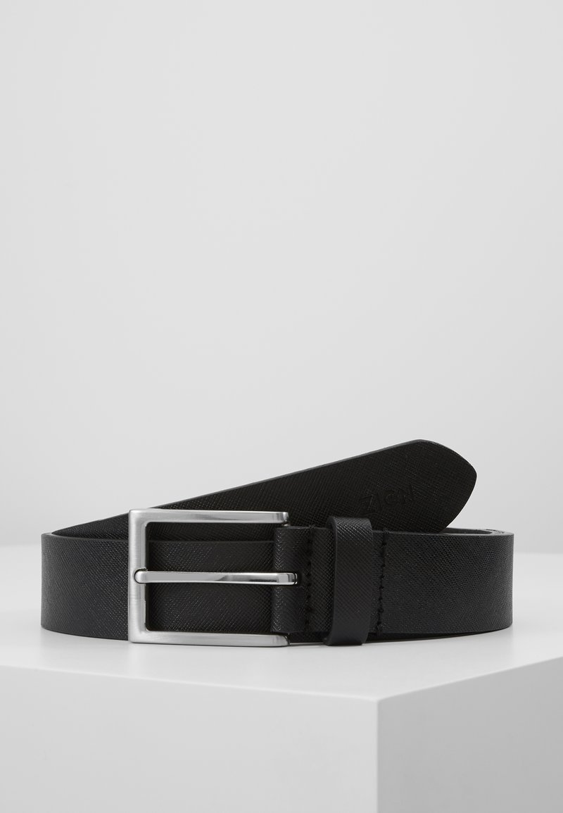Zign - UNISEX LEATHER - Pásek - black