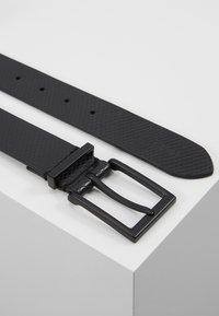 Zign - UNISEX LEATHER - Belt - black - 2