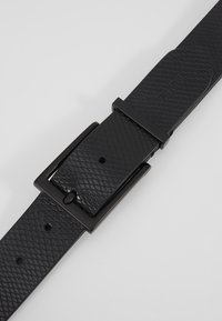 Zign - UNISEX LEATHER - Belt - black - 5