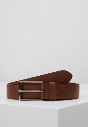 UNISEX LEATHER - Gürtel - tan