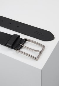 Zign - UNISEX LEATHER - Riem - black - 3