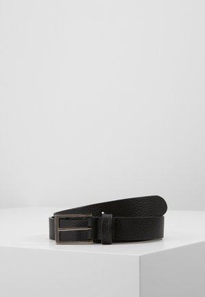UNISEX LEATHER - Belt business - black