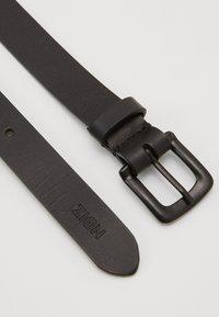 Zign - UNISEX LEATHER - Belt - black - 1