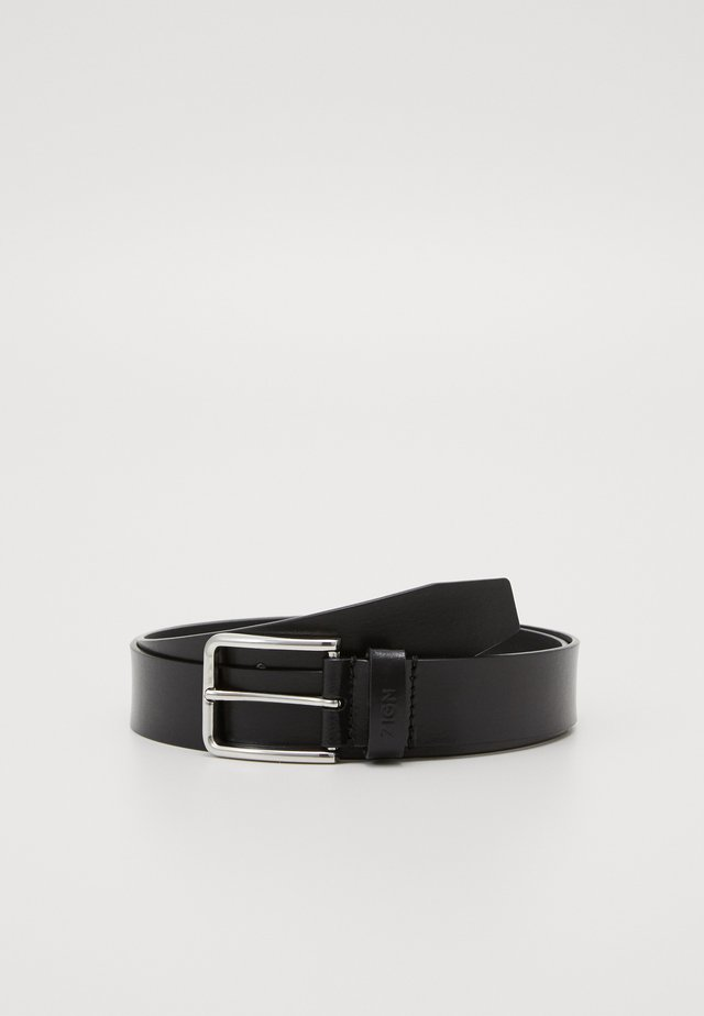 UNISEX LEATHER - Gürtel - black
