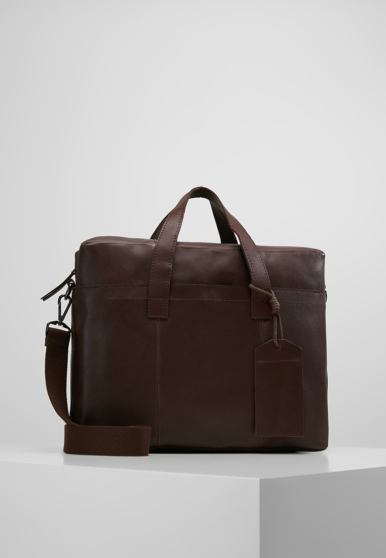 Zign - Laptop bag - dark brown
