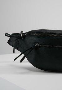 Zign - LEATHER - Bum bag - black - 7