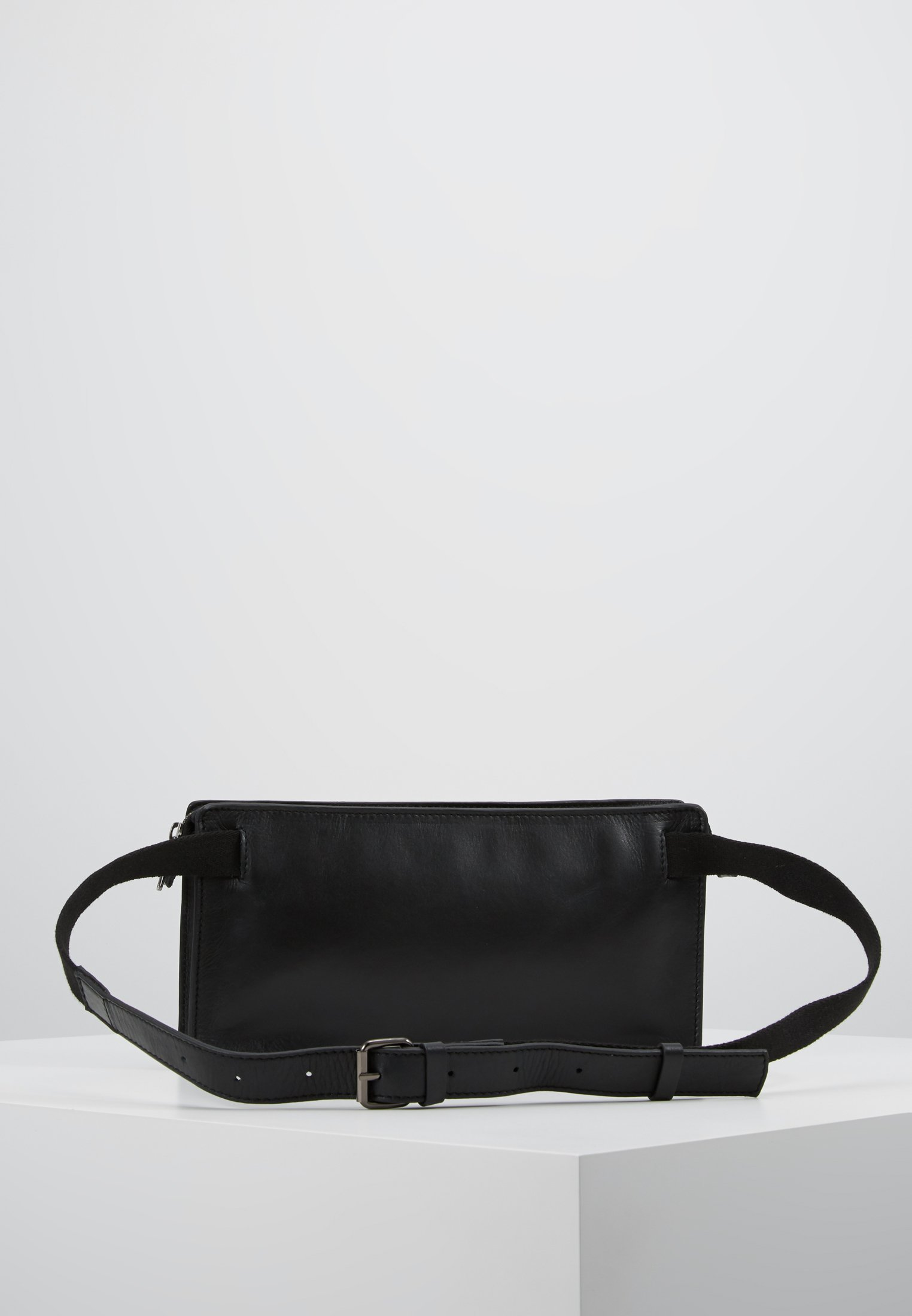 Zign LEATHER - Marsupio - black