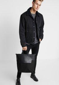 Zign - LEATHER - Shopper - black - 1