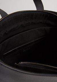 Zign - LEATHER - Velká kabelka - black - 4