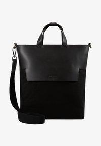 Zign - LEATHER - Shopper - black - 6