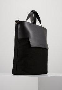 Zign - LEATHER - Velká kabelka - black - 3