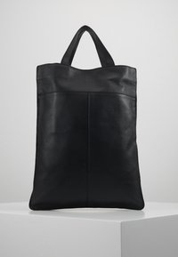 Zign - UNISEX LEATHER - Shoppingveske - black - 2