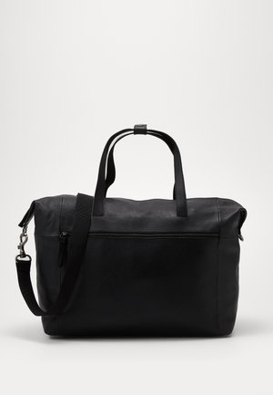 UNISEX LEATHER - Torba weekendowa - black