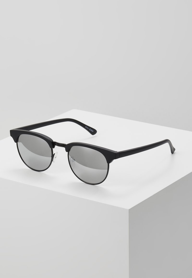 Zign - Sunglasses - black/silver