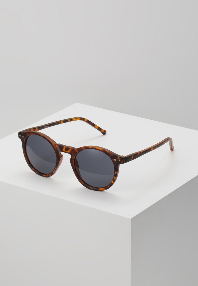 Zign - UNISEX - Sunglasses - brown/black