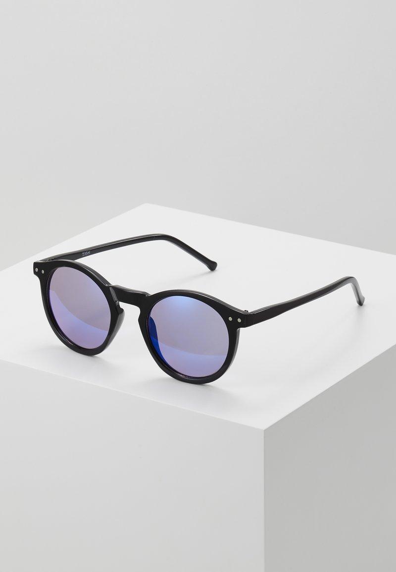 Zign - Occhiali da sole - black/blue