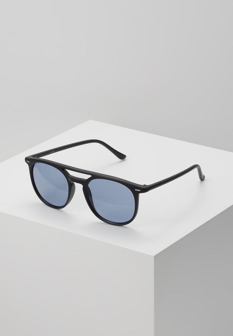 Zign - UNISEX - Sunglasses - black/blue