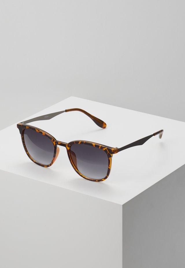 UNISEX - Sunglasses - brown/black
