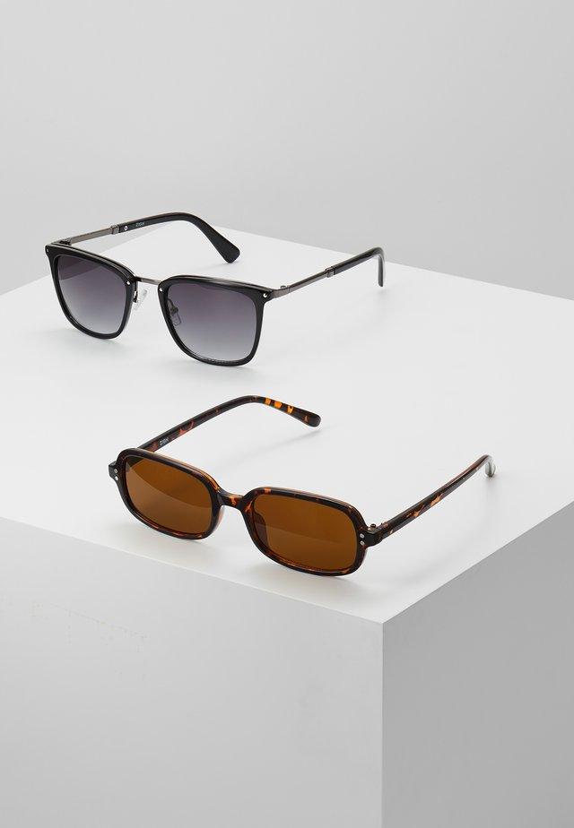 Solbriller - brown/black