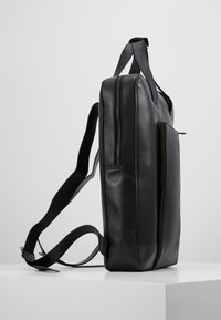 Zign - UNISEX LEATHER - Rucksack - black - 3