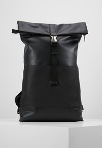 Zign - UNISEX LEATHER - Ryggsekk - black - 0