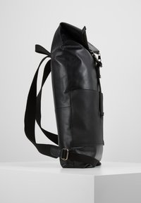 Zign - UNISEX LEATHER - Ryggsekk - black