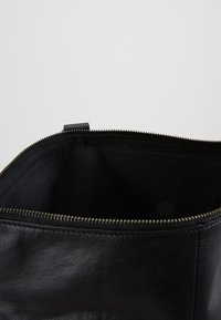 Zign - UNISEX LEATHER - Ryggsekk - black - 4
