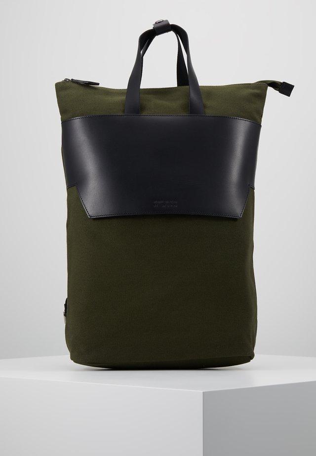 UNISEX - Rucksack - oliv/black
