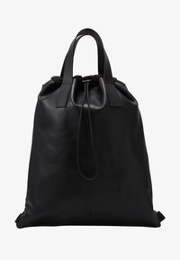 Zign - UNISEX LEATHER - Batoh - black - 1