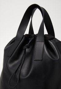 Zign - UNISEX LEATHER - Batoh - black - 2