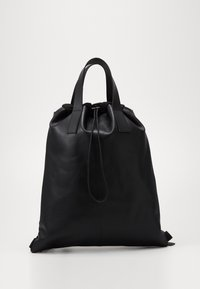 Zign - UNISEX LEATHER - Batoh - black - 0