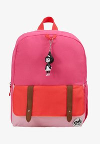 Zip and Zoe - Batoh - hot pink colour block - 1