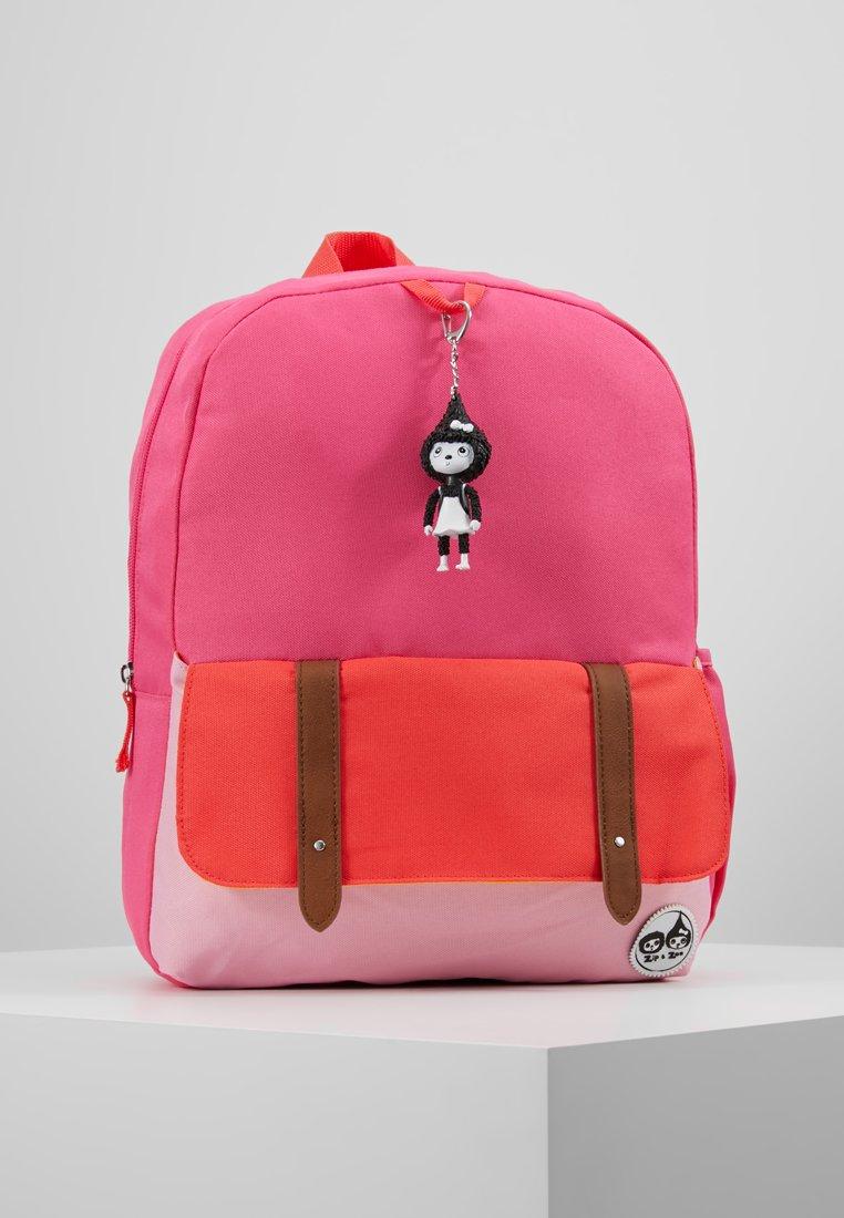 Zip and Zoe - Sac à dos - hot pink colour block