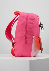 Zip and Zoe - Batoh - hot pink colour block - 4