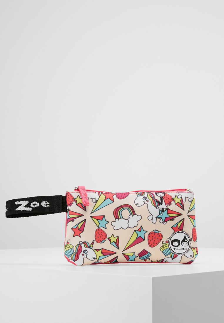 Zip and Zoe - PENCIL CASE UNICORN - Penál - rose colorful