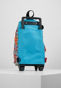Zip and Zoe - MINI WHEELIE - Wheeled suitcase - robot blue - 3
