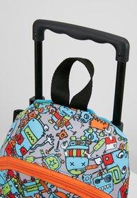 Zip and Zoe - MINI WHEELIE - Wheeled suitcase - robot blue - 6