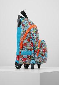 Zip and Zoe - MINI WHEELIE - Wheeled suitcase - robot blue - 4