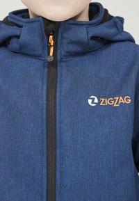ZIGZAG - MANON MELANGE WATERPROOF - Light jacket - 2012 true blue - 4