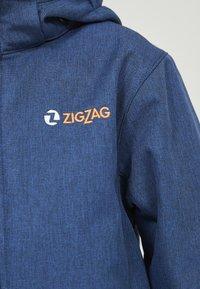 ZIGZAG - MANON MELANGE WATERPROOF - Übergangsjacke - 2012 true blue - 5
